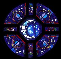 St. Clare Rose Window