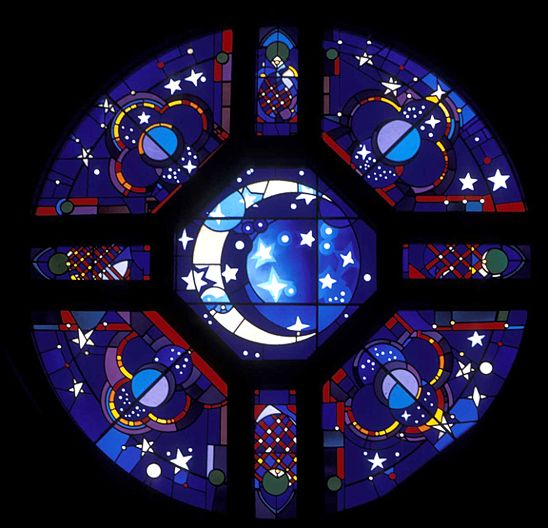 Stephen Wilson Stained Glass Rose Windows